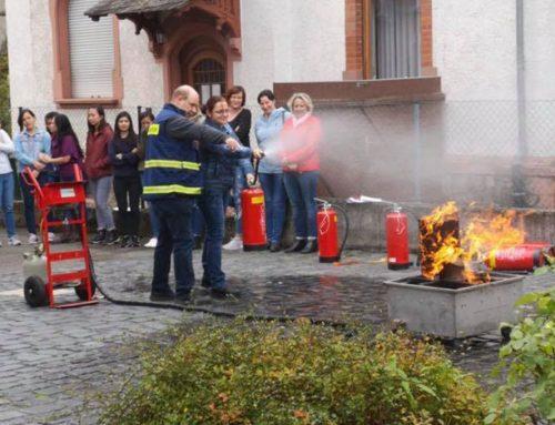 Pflegezeit neue Brandschutzhelferschulung